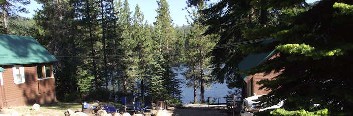 Lakeview Cottages On Huntington Lake Rental Rates And Cabin Photos
